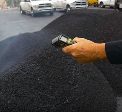 Checking for Proper Asphalt Temperature VA Beach Paving Pros VA Beach, VA